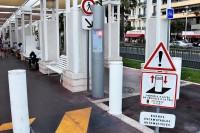 Automatyczne wjazdy stanowią zamkniętą całość. Zamontowane w kilku miejscach na promenadzie.