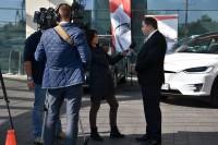 """Warszawa, 19 września 2017 r. międzynarodowa konferencja """"Autonomiczna przyszłość transportu drogowego"""" (fot. Jolanta Michasiewicz)"""