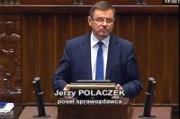 Sejm RP, 28 września 2017 r., poseł sprawozdawca Jerzy Polaczek