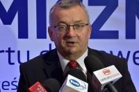 Minister infrastruktury i budownictwa Andrzej Adamczyk (fot. Jolanta Michasiewicz)