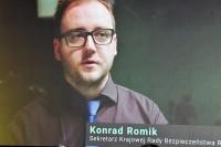 Konrad Romin, sekretarz KR BRD