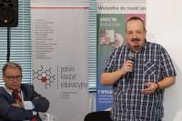 Witold WIśniewski, prezes Grupy IMAGE, Tomasz Piętka, starszy specjalista w Departamencie Transportu Drogowego Ministerstwa Infrastruktury i Budownictwa