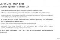 Ministerstwo Cyfryzacji. Konferencja WORD. Stan prac CEPiK 2.0