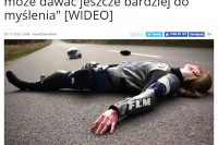 """Radio SZCZECIN - """"Po śmierci motocyklistki, kampania może dawać jeszcze bardziej do myślenia [wideo]"""""""