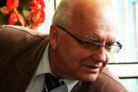 """Jan Szumiał. """"Wypadki drogowe, sprawcy, przyczyny, zmiany"""" (24.10.2017) (fot. J. Michasiewicz)"""