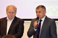 Konferencję otworzył Roman Bańczyk dyrektor WORD Katowice oraz Piotr Drapa przewodniczący GSOS