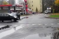 """Jan Szumiał. """"Wypadki drogowe, sprawcy, przyczyny, zmiany"""" (24.10.2017) (fot. J. Szumiał)"""