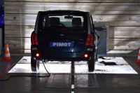 Uroczyste otwarcie Centrum Bezpieczeństwa Transportu i Diagnostyki Pojazdów PIMOT. Warszawa, 3.10.2017 r. Crash test.