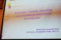 """Beata Szczepankiewicz, Urząd Miejski w Gliwicach """"Kontrola i nadzór starosty nad ośrodkami szkolenia kierowców"""""""