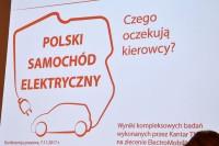 """""""Polski Samochód Elektryczny. Czego oczekują kierowcy?"""" Konferencja prasowa. Centrum Prasowe PAP, 7.11.2017 r."""