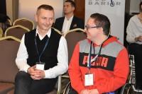 Uczestniczy konferencji, Warszawa Hotel Hilgon DoubleTree 8 listopada 2017 r.