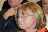 Wśród uczestników konferencji, Bożenna Chlabicz, prezes Fundacji Zapobieganie Wypadkom Drogowym