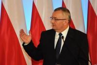 Minister Andrzej Adamczyk dziękował swoim współpracownikom