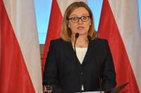 Justyna Skrzydło, sekretarz stanu, w resorcie odpowiedzialna za współpracę międzynarodową oraz nadzorująca prace Krajowej Rady BRD