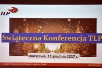 Świąteczna Konferencja TLP, Warszawa 11 grudnia 2017 r. (fot. Jolanta Michasiewicz)