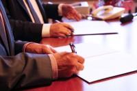 Uroczyste podpisanie umowy przystąpienia Gostynińskiego Centrum Edukacyjnego do Polskiego Klastra Edukacyjnego
