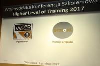 """Wojewódzka Konferencja Szkoleniowa - Higher Level of Training 2017 """"odsłaniamy arkana egzaminowania"""". Warszawa 1.12.2017 (fot. J. Michasiewicz)"""