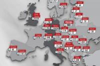 """YANOSIK pl l – """"Yanosik informuje o fotoradarach w Europie [RAPORT]"""" (grafika YANOSIK)"""