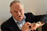 Andrzej Grzegorczyk, ekspert z zakresu bezpieczeństwa ruchu drogowego, wiceprezes Fundacji ZAPOBIEGANIE WYPADKOM DROGOWYM (fot. Jolanta Michasiewicz)