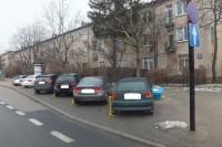 Parkowanie na zakazie_blokady_Wołoska