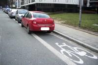 Parkowanie na drodze dla rowerów_Zajęcza