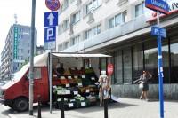 Parkowanie Nielegalny handel-pojazd