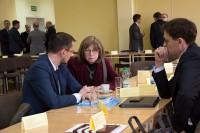 Uczestnicy konferencji. Włocławek 28.2.2018 r. Kuluarowa wymiana doświadczeń.