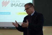 O przydatności e-learningu wspierającego szkolenia młodzieży jako kandydatów na kierowców mówił Witold Wiśniewski, prezes zarządu Grupy IMAGE