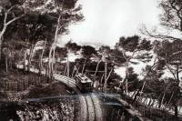Linia Monaco-Menton w obiektywie Jean'a Gilletta (rok 1904)