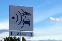 Nowe znaki drogowe informujące o możliwości występowania fotoradaru na odcinku np. 27 km