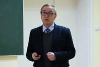 Dyrektor WORD w Zielonej Górze, Rafał Gajewski, omówił m.in. zasady działania platformy edukacyjnej BRD (stworzonej wraz z Grupą IMAGE)
