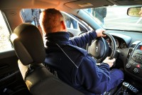 Policja Lubuska. Lubuscy policjanci doskonalą umiejętności kierowania pojazdami uprzywilejowanymi