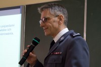 Mł. insp. Armand Konieczny, naczelnik Wydziału Nadzoru i Profilaktyki Biura Ruchu Drogowego Komendy Głównej Policji