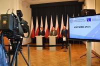 Konferencja prasowa w Ministerstwie Infrastruktury, Warszawa 13 kwietnia 2018 r.