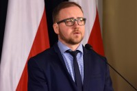 Konrad Romik, sekretarz Krajowej Rady Bezpieczeństwa Ruchu Drogowego (fot. Jolanta Michasiewicz)