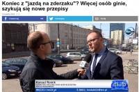 """Konrad Romik, sekretarz KR BRD o naszych umiejętnościach jazdy autostradami. TVN24 – """"Koniec z """"jazdą na zderzaku""""? Więcej osób ginie, szykują się nowe przepisy"""""""
