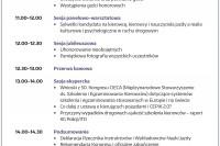 Kongres Instruktorów i Wykładowców Nauki Jazdy, Warszawa 2018 r. - porządek obrad