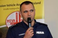 Nadkom. Radosław Kobryś, radca Wydziału Opiniodawczo-Analitycznego Biura Ruchu Drogowego KGP (fot. Jolanta Michasiewicz)