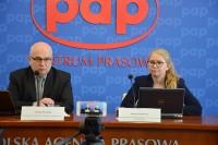 Konferencja prasowa TLP. 4.4.2018 r. Centrum Prasowe PAP