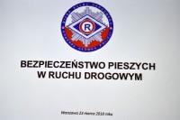 """Konferencja """"Bezpieczeństwo pieszych w ruchu drogowym"""", Warszawa, 23.3.2018 (fot. Jolanta Michasiewicz)"""