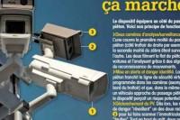 Francja. Fotoradar nowej generacji montowany na przejściu dla pieszych.