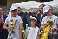 """Zwycięzcy konkursu """"5 ZŁOTYCH MINUT"""", Warszawa-Praga, 18.5.2018 r. - drużyna SP nr 277 Targówek"""
