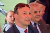 (od prawej) Waldemar Przeździęk, zastępca dyrektora oraz Rafał Grodzicki, kierownik Wydziału Szkolenia i Bezpieczeństwa WORD w Warszawie