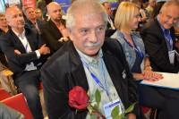 """Uhonorowany odznaką honorową """"Zasłużony dla Transportu Rzeczpospolitej Polskiej"""""""