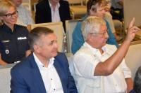 Uczestnicy inauguracji kampanii SENIOR NA DRODZE.