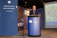 Andrzej Adamczyk, minister infrastruktury, przewodniczący Krajowej Rady Bezpieczeństwa Ruchu Drogowego