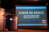 Inauguracja kampanii informacyjno-edukacyjnej SENIOR NA DRODZE. Jestem świadomy - będę bezpieczny. Warszawa, 28.6.2018