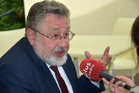 Andrzej Markowski, psycholog transportu, udziela wywiadu