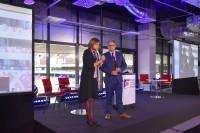 Otwarcie Kongresu: Bożenna Chlabicz, prezes Fundacji oraz Witold WIśniewski, prezes Grupy IMAGE