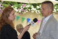 Krzysztof Wójcik, ekspert BRD, udziela wywiadu